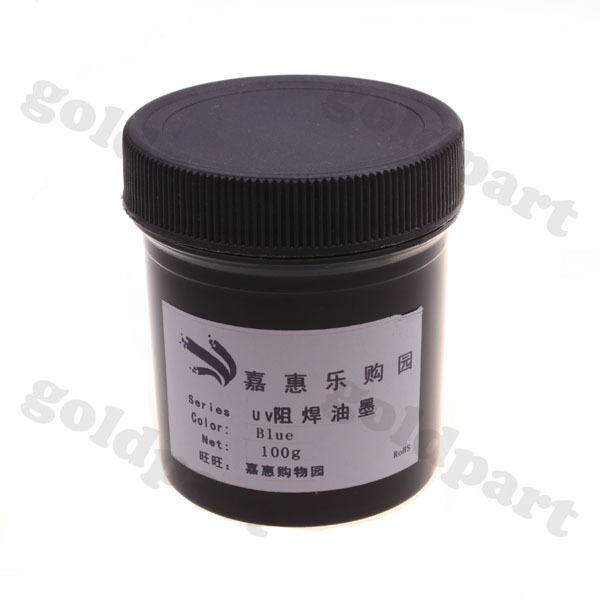 PCB UV Curable Solder Mask Repairing Paint Blue 100g