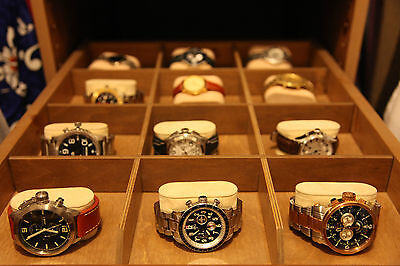 Massive Watch Collection! From Rolex, Panerai, Corum Cup, Breitling, Omega, B/M!