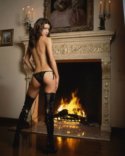 Thigh High Boots Grace Park 8x10 Celebrity Photo. Photo #297. Free Shipping!
