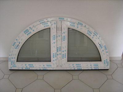 VEKA Rundbogenfenster Drehflügel