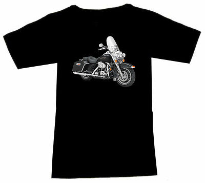 T-Shirt mit Motorrad Motiv: Harley Davidson Biker Fruit Of The Loom Motorcycle