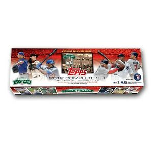 2012-Topps-Baseball-039-FENWAY-100th-Anniversary-039-Complete-Factory-Sealed-Set-NEW