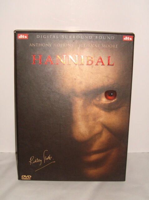 DVD HANNIBAL ANTHONY HOPKINS