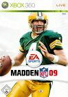 Madden NFL 09 (Microsoft Xbox 360, 2008, DVD-Box)