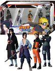 Namco Action Figur Naruto Shippuden 4er Set (Naruto,Kakashi,Itachi,Sasuke) - 3700577003882