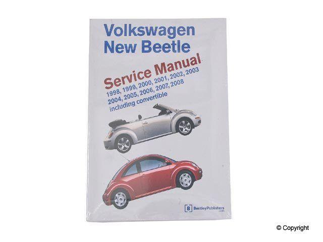 volkswagen beetle repair manual bentley vw 800 0408 ebay rh ebay com 2008 VW Beetle Hippy VW Beetle Repair Manual