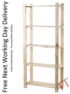 5-Tier-Pine-Shelf-Unit-Freestanding-Pine-Shelving-with-5-Shelves-Pine-Wood