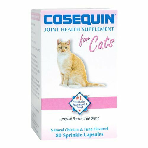 cosequin for cats natural 80 sprinkle capsules ebay. Black Bedroom Furniture Sets. Home Design Ideas