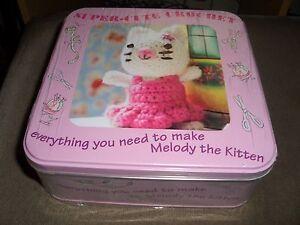 SuperCute Crochet Kit In Metal Box  Nicki Trench   New - <span itemprop=availableAtOrFrom>Rawtenstall, Lancashire, United Kingdom</span> - SuperCute Crochet Kit In Metal Box  Nicki Trench   New - Rawtenstall, Lancashire, United Kingdom