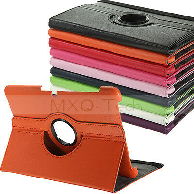 360° Rotating Leather Case Cover Pouch For Samsung Galaxy Tab 2 10.1 P5100 P5110