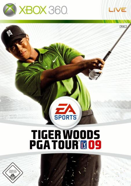 Tiger Woods PGA Tour 09 (Microsoft Xbox 360, DVD-Box)