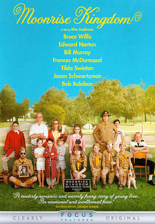 Moonrise Kingdom DVD New, free shipping