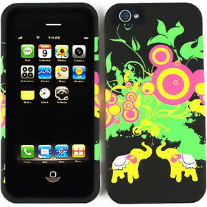 iphone 5s glow in the dark case elephants glow in the protective cover for 20486