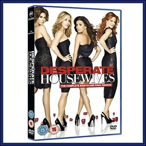 desperate housewives complete series 8 season 8 brand new dvd. Black Bedroom Furniture Sets. Home Design Ideas