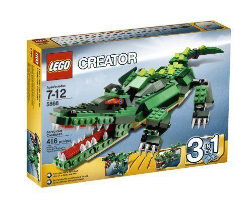 lego creator ferocious creatures 5868 ebay. Black Bedroom Furniture Sets. Home Design Ideas