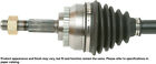 CV Axle Shaft-New Constant Velocity Drive Axle Front Right fits 00-06 Sentra