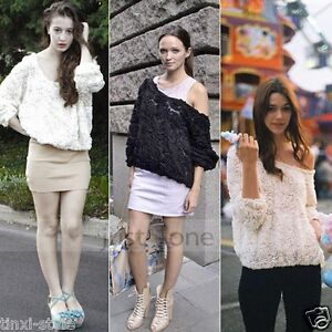 Fashion-Women-Lady-Girls-Sexy-3D-Rose-Flower-Mesh-Jumper-Pullover-Shirt-Top