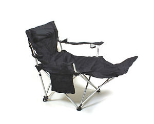 Alu 2in1 campingstuhl liegestuhl faltstuhl camping angelstuhl gartenstuhl giga ebay - Liegestuhl camping ...