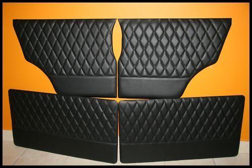 Diamond Design Türverkleidung Türpappen - Mini Austin Cooper Classic - Doorcards