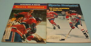 2-MONTREAL-CANADIENS-1970-039-s-SPORTS-ILLUSTRATED-GUY-LAFLEUR