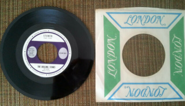 The Rolling Stones - Stoned 45 - RARE STOCK COPY MINT w/Original Sleeve
