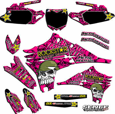2004 2005 KXF 250 GRAPHICS KAWASAKI KX250F KX F 250F DECO DECALS STICKERS MOTO