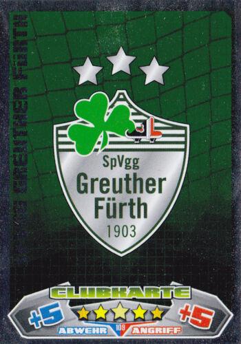 clubkarten pour choisir Match Attax 2012//13