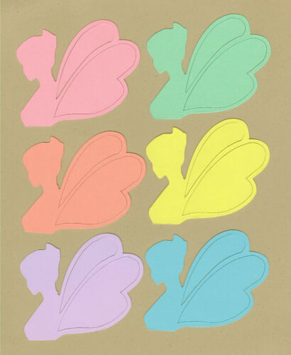Your choice of colors on Angels//Fairies Die Cuts CommCut International
