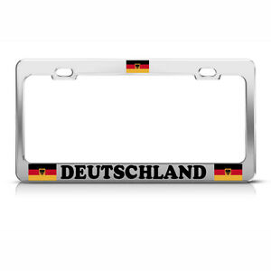 German License Plate Frame