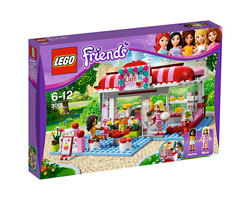 Lego NEW SEALED BOX Friends 3061 City park Cafe Shop with Andrea and Marie