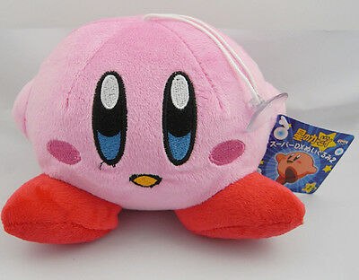 "Kirby Jumbo Smile 4.2"" Soft Plush Toy Pink"
