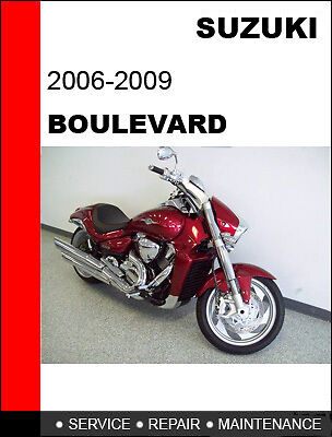 Suzuki Boulevard VZR1800 M109R Service Repair Manual