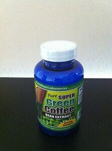 PURE-GREEN-COFFEE-BEAN-EXTRACT-FAT-LOSS-CHLOROGENIC-ACID-800-mg-MaritzMayer-Lab