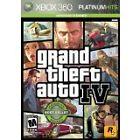 Grand Theft Auto IV -- Platinum Hits Edition (Microsoft Xbox 360, 2009)