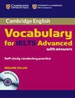 Cambridge Vocabulary for IELTS Advanced Band 6.5+ with Answers and Audio CD by Pauline Cullen (Mixed media product, 2012)