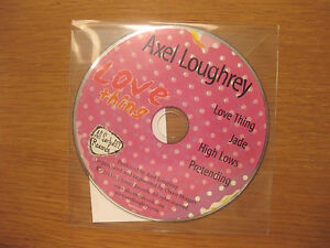 AXEL LOUGHREY 034Love Thing EP034  4 track PROMO CD  jade pretending high lows - <span itemprop='availableAtOrFrom'>West Byfleet, United Kingdom</span> - AXEL LOUGHREY 034Love Thing EP034  4 track PROMO CD  jade pretending high lows - West Byfleet, United Kingdom