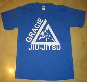 GRACIE MMA FIGHTER Jiu Jitsu PRIDE FC FIGHTING CHAMPIONSHIP T shirt Martial arts
