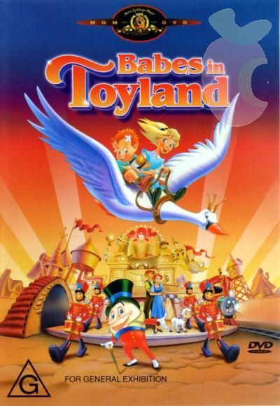 Babes in Toyland DVD 1997 - Kids Movie - Cartoon Animation - G Rated - FREE POST
