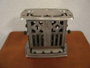 Vintage Antique Manning Bowman Chrome Toaster