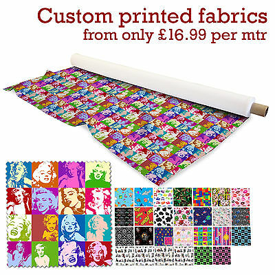 "DIGITAL PRINT ALOBA BRUSHED POLYESTER CUSTOM PRINTED FABRIC 29 DESIGNS 58"" WIDTH"