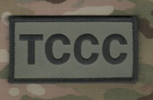 JSOC-SEAL-ODA-AFSOC-TACP-MEDIC-VELCRO-CAMO-PATCH-Tactical-Combat-Casualty-Care