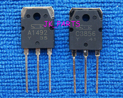 10pairs(20pcs) of 2SA1492 & 2SC3856 SANKEN Transistor A1492 & C3856
