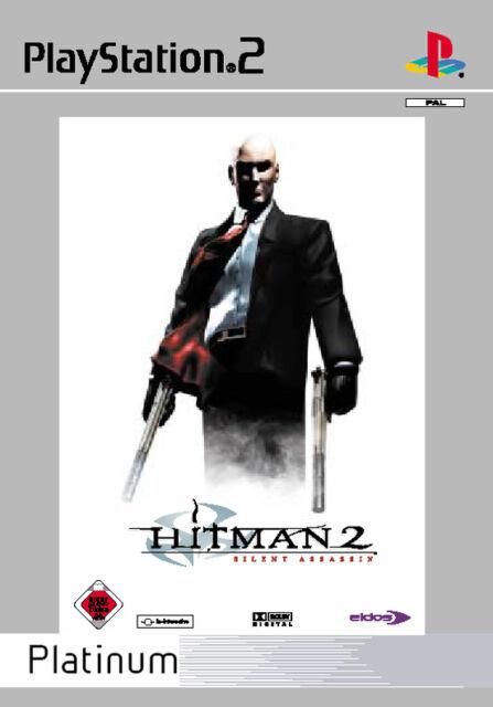 Hitman 2 mit Anleitung (PS2) - DVD wie Neu *USK 18*