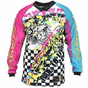 Mens ed hardy mens motorcycle motorcross racing t shirts for Xxl tall white t shirts