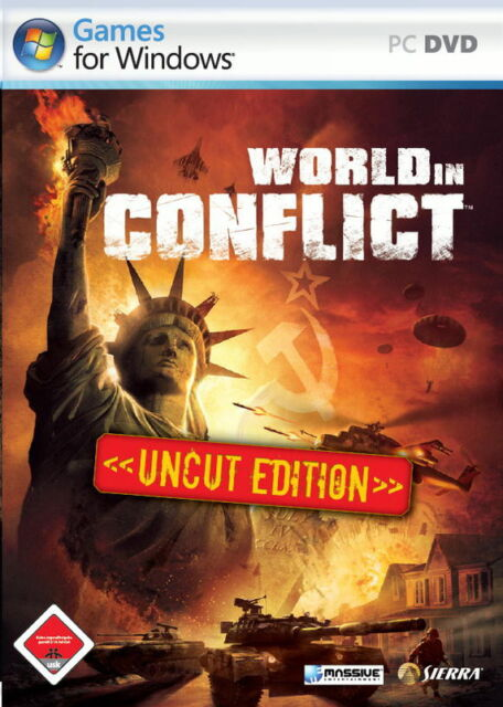 World In Conflict - Uncut Edition (PC, 2007, DVD-Box)