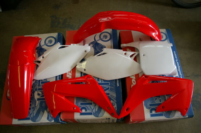 RACE TECH  REPLICA  HONDA PLASTIC KIT CR125 CR250 CR125R CR250R 2002  2003