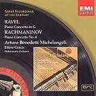 Maurice Ravel - Conc. Piano 4 - Benedetti-Michelangeli, Gracis (2000)