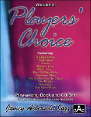 Jamey Aebersold Jazz Volume 91 - Player's Choice (Includes Play-Along CD)