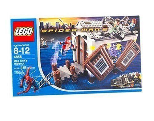 Nuevo Lego Spider-Man 4856 Doc Octopus's escondite Sellado-Envío Todo El Mundo