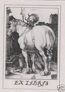 Ex Libris Bookplate The Large Horse Vz7cjzub-07231219-209893692